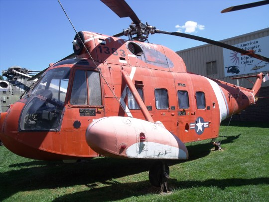 Vintage Coast Guard Chopper