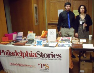 Volunteers greet attendees at the 2013 Push To Publish conference.
