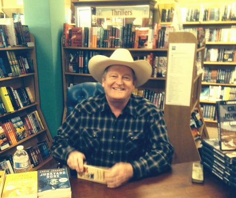 Author Craig Johnson, Longmire Mystery Series. Photo by Author Adele Downs.