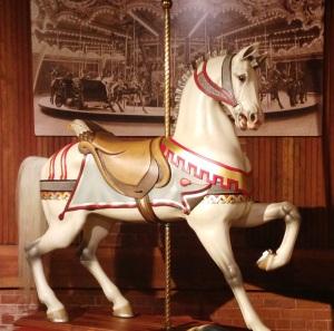 carouselEnglish prancing horse