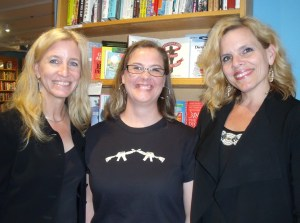 Featured authors (L to R) Veronica Forand, P.A. DePaul, Sara Humphreys