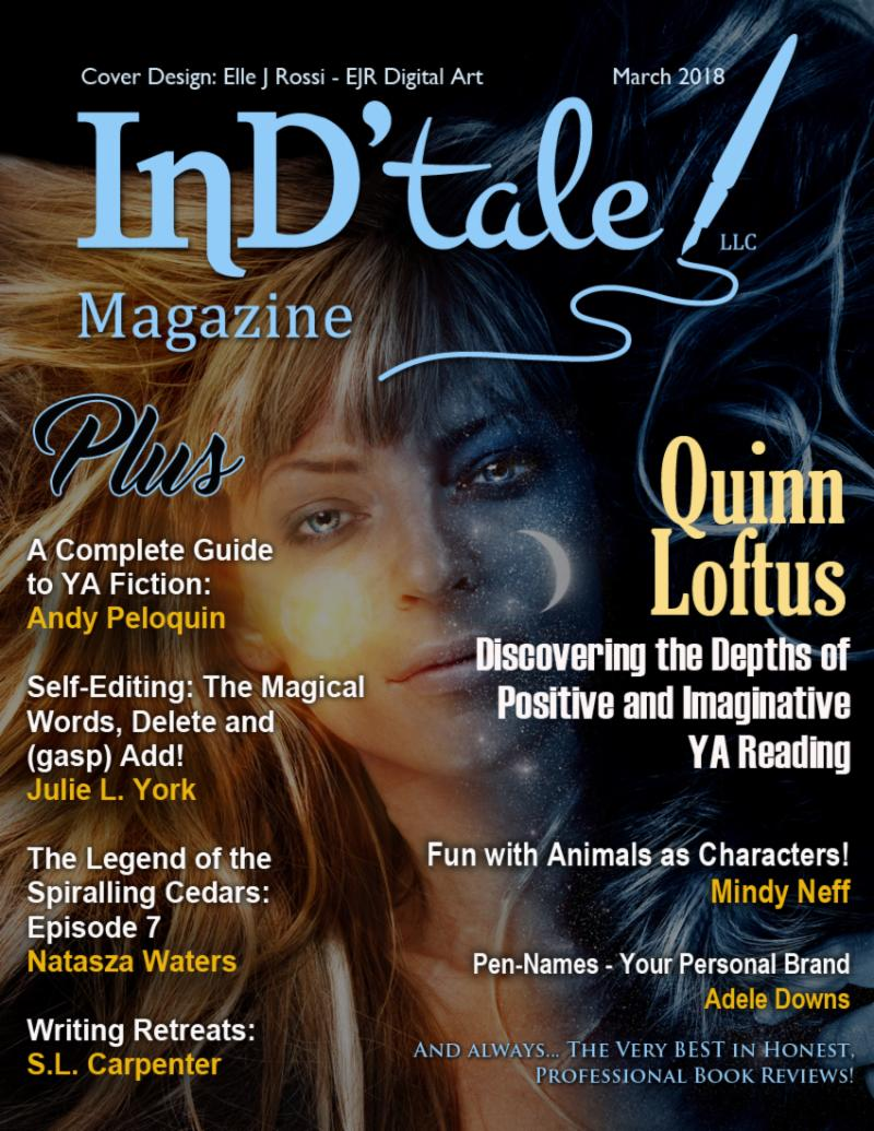 March Issue of InD'Tale Magazine, Available Now